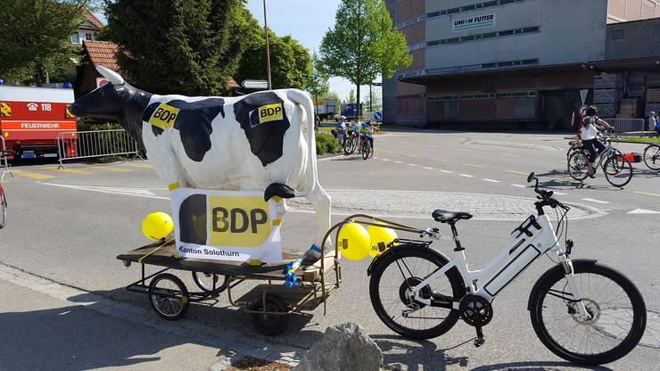 Das Kuh Gefährt