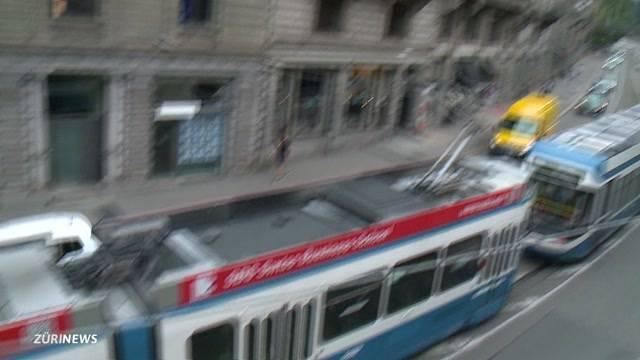 Tramschienen-Test Bellevue