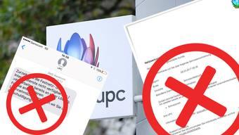 Am Dienstag wurden bei UPC fälschlicherweise Störmeldungen generiert. Es handelt sich um ein technisches Problem bei der Telekommunikationsfirma