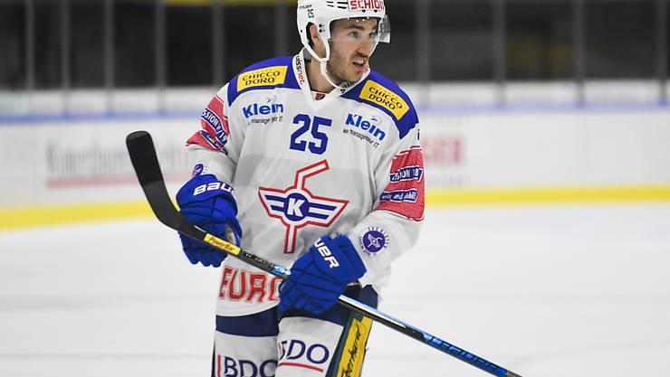 Thibaut Monnet bleibt in der Swiss League und im Kanton Zürich. Der frühere Nationalstürmer spielt künftig nicht mehr für Kloten, sondern für Winterthur