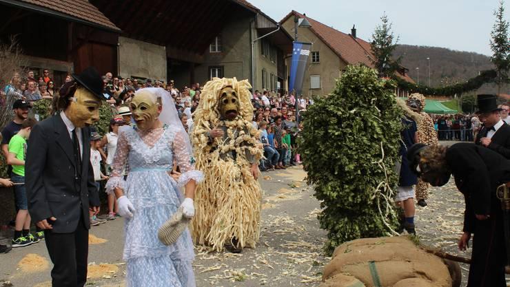 Der Eierleset in Effingen ist eine alte Tradition, die alle zwei Jahre stattfindet und jeweils von den Organisatoren viel Vorbereitungsarbeit erfordert.