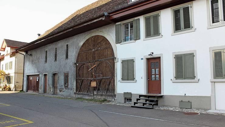 Die Zehntenscheue im alten Dietiker Dorfkern: Ihre Ursprünge gehen auf die Zeit um 1600 zurück.