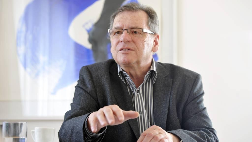 Hubert Schlegel engagierte sich 2011 als OK-Präsident des Eigenössischen Musikfestes.