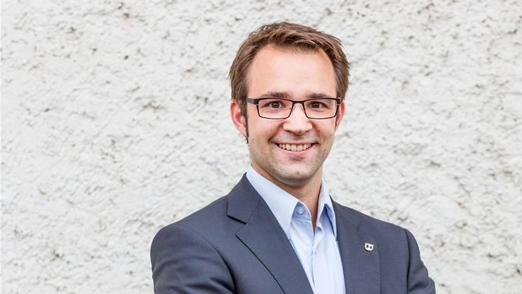 FDP-Grossrat Titus Meier.