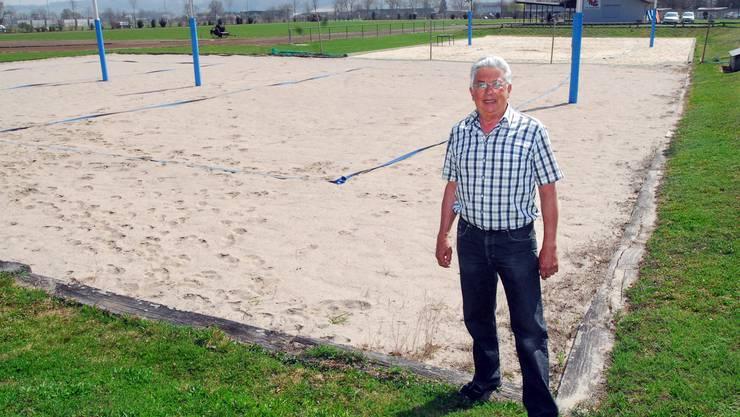 Robert Gilomen, Chef Ressort Stadion beim Turnverein Grenchen, ist zuversichtlich.