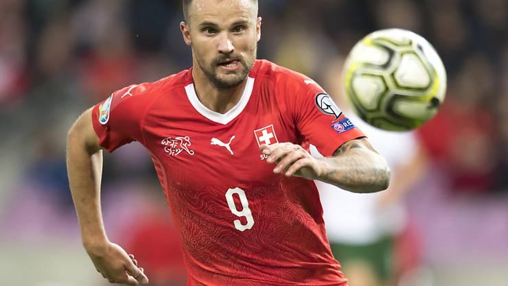 Der Schweizer Nationalstürmer Haris Seferovic kann am 4. Juni den Spielbetrieb mit Benfica Lissabon wieder aufnehmen