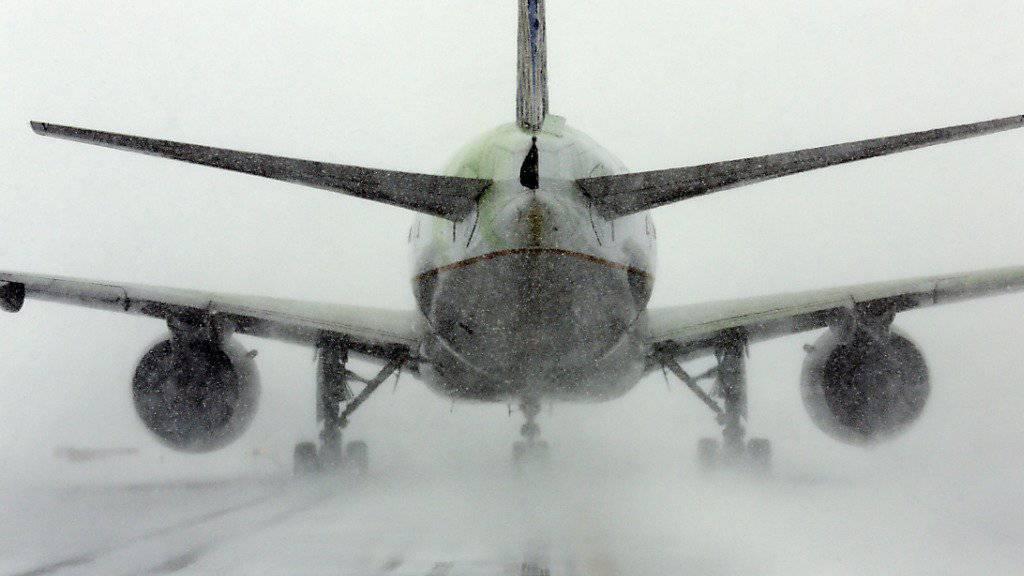 Gestrandet in eisiger Kälte: Passagiere mussten während Stunden in einer Maschine der US-Fluggesellschaft United Airlines im Nordosten Kanadas ausharren. (Symbolbild)