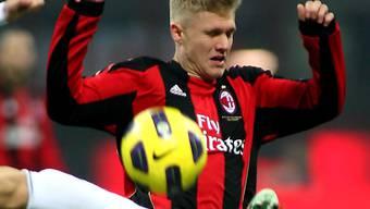 Alexander Merkel war auch bei der AC Milan unter Vertrag.