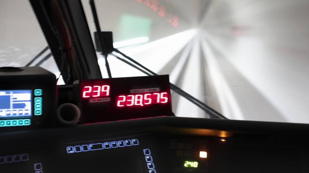 SBB-Fahrplanwechsel 2021 steht im Zeichen der NEAT und Mangel an Lokführern