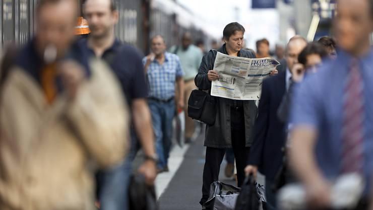 Suche nach Arbeit: Im August legte die Arbeitslosenquote zu. (Symbolbild)
