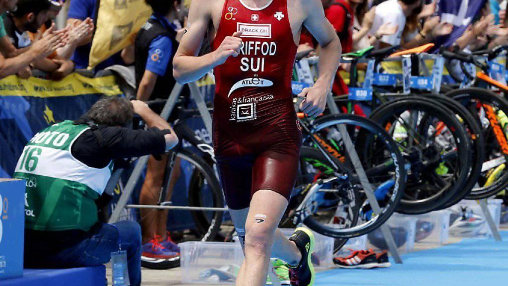 Adrien Brifford war der Schweizer Schlussläufer im Mixed-Team-Wettkampf der WM-Serie in Nottingham