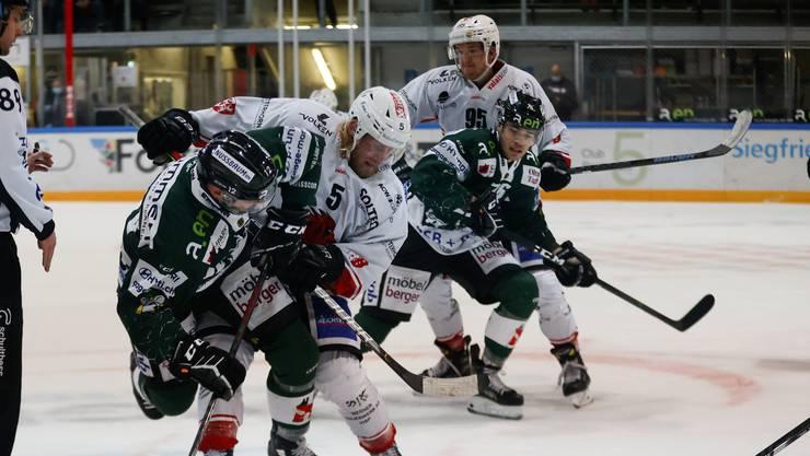 Der EHC Olten empfing in der 7. Runde der Swiss League zu Hause den EHC Visp.