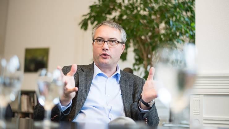Bildungsdirektor Remo Ankli wünscht sich eine neue Normalität