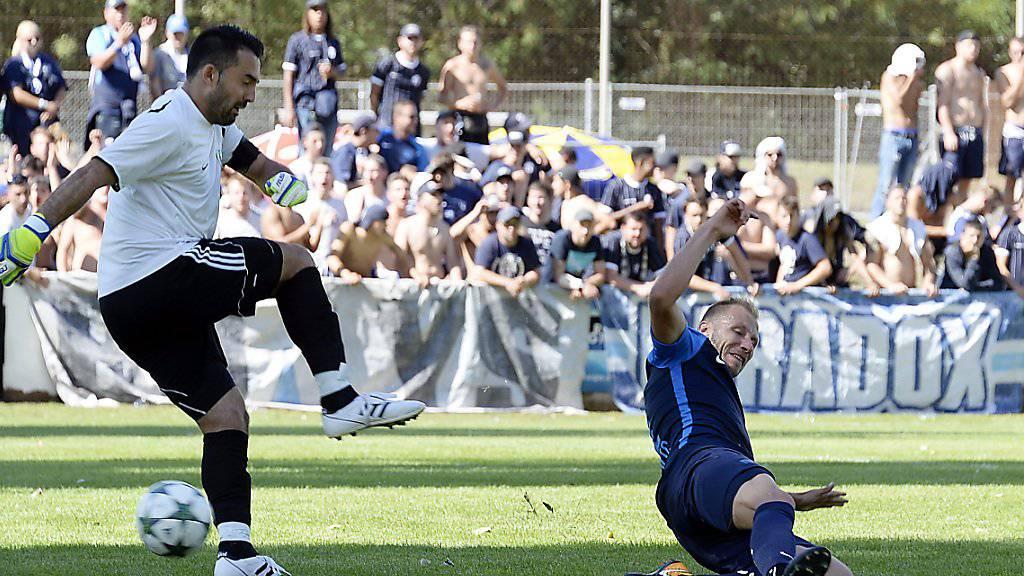 Dzengis Cavusevic erzielte für den FCZ gegen den Walliser Klub Chippis fünf Tore
