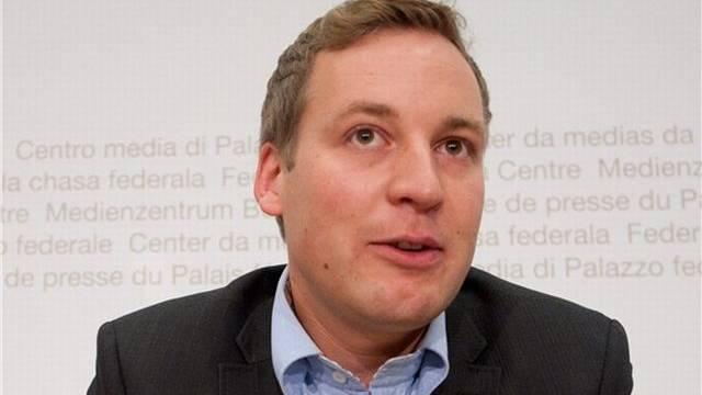 Lukas Reimann, SVP-Nationalrat und Mitinitiant der Transparenz-Initiative. Foto: Samuel Truempy - Keystone