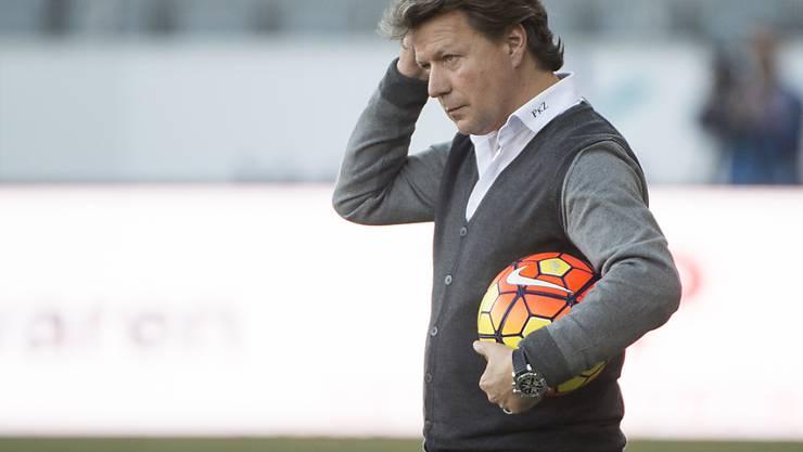 Thuns Coach Jeff Saibene blickt einer emotionalen Rückkehr nach St. Gallen entgegen