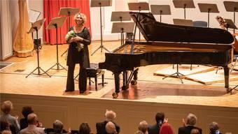 Auch Meisterin der Improvisation: Gabriela Montero.