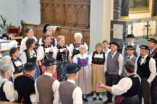 Gemischter Trachtenchor Mellingen (Foto: Reussbote)