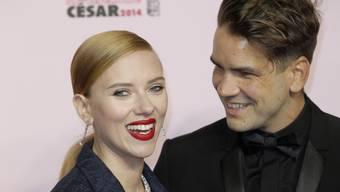Scarlett Johansson und Romain Dauriac (Archiv)