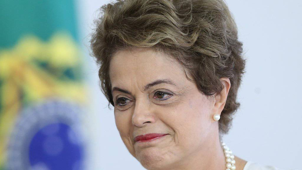 Hoffnungsschimmer: Umfragewerte zur Beliebtheit von Brasiliens Präsident Dilma Rousseff steigen. (Archiv)