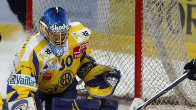 Davos-Goalie Leonardo Genoni