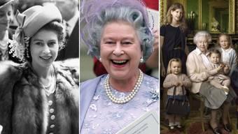 Das Leben von Queen Elizabeth in Bildern