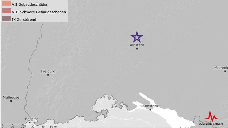 Erdbeben in Deutschland auch in der Ostschweiz verspürt