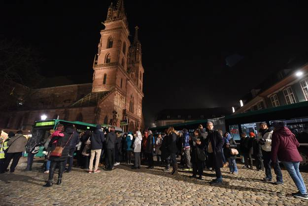 Die Museumsnacht-Busse waren sehr beliebt.