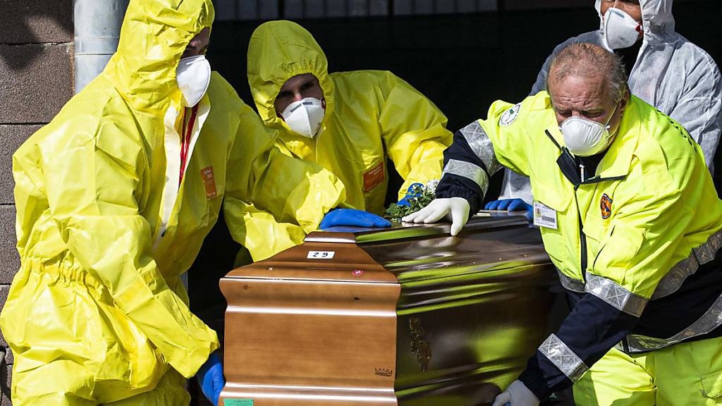 Mehr als 10'000 Tote durch Coronavirus in Italien