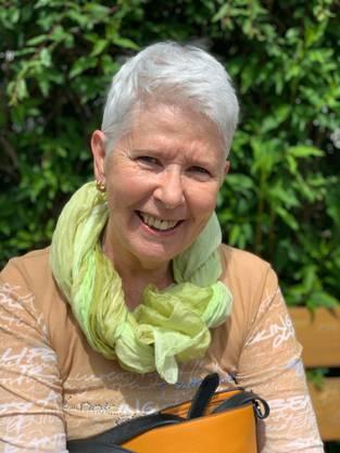 Sylvia Panzeri zeigte viel Freude am beliebten Ausflug und dem feinen Essen