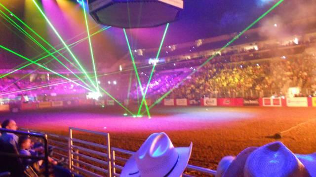 Grosse Cowboy-Show: Das