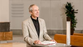 Quereinsteiger: Markus Zeifang fühlt sich als Vikar in der Reformierten Kirche Baden sichtlich wohl.
