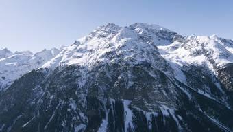 Blick auf den Piz Ela in der Albula-Region.