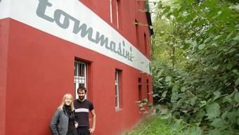 Vor dem Tommasini Eliane Zgraggen und Peter Heusler. (Bild: Heiner Halder)