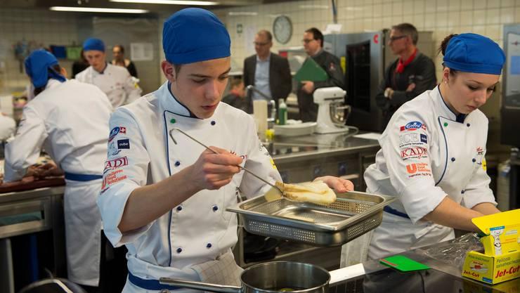Nationaler Kochwettbewerb Berufslernende, BBB Martinsberg, Baden.
