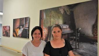 Die Werke «Morbider Charme des Verfalls» der Fotografinnen Deborah Sgier und Naomi Weber finden sich noch bis im Herbst im Roggenpark Oensingen.