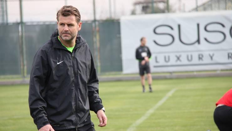 Winterthurs neuer Trainer Sven Christ trifft in seinem ersten Spiel auf Wohlen.