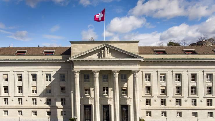 Das Bundesgericht läuft vorläufig in reduziertem Betrieb.