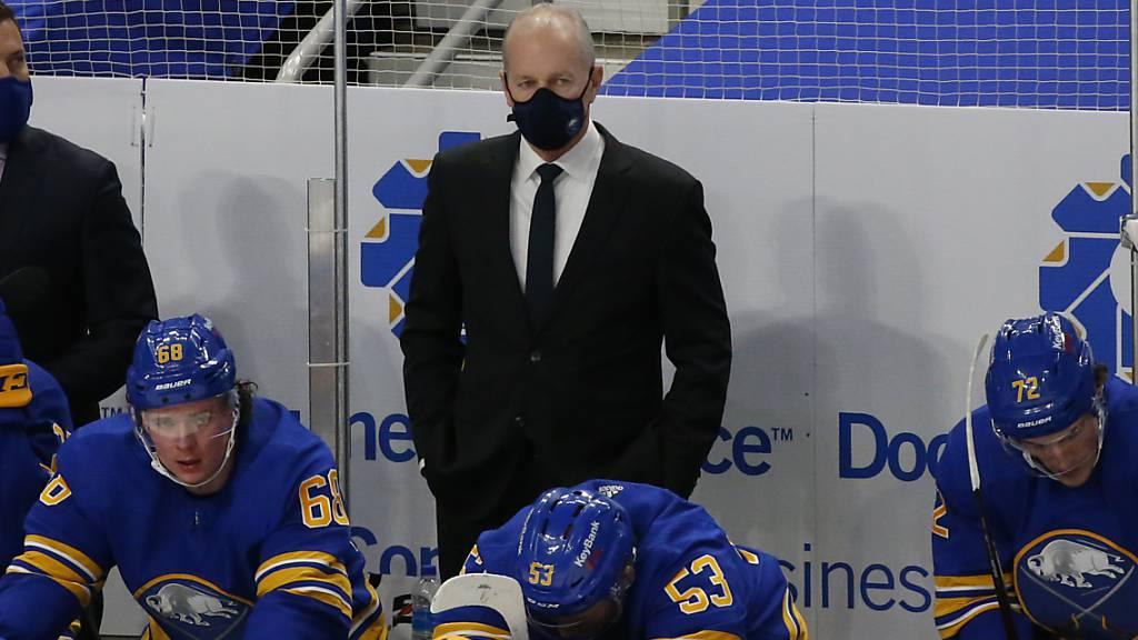Ralph Krueger in Buffalo entlassen