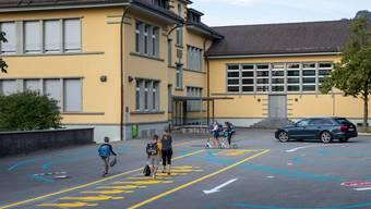 Erster Schultag im Schulhaus Oberdorf Oensingen