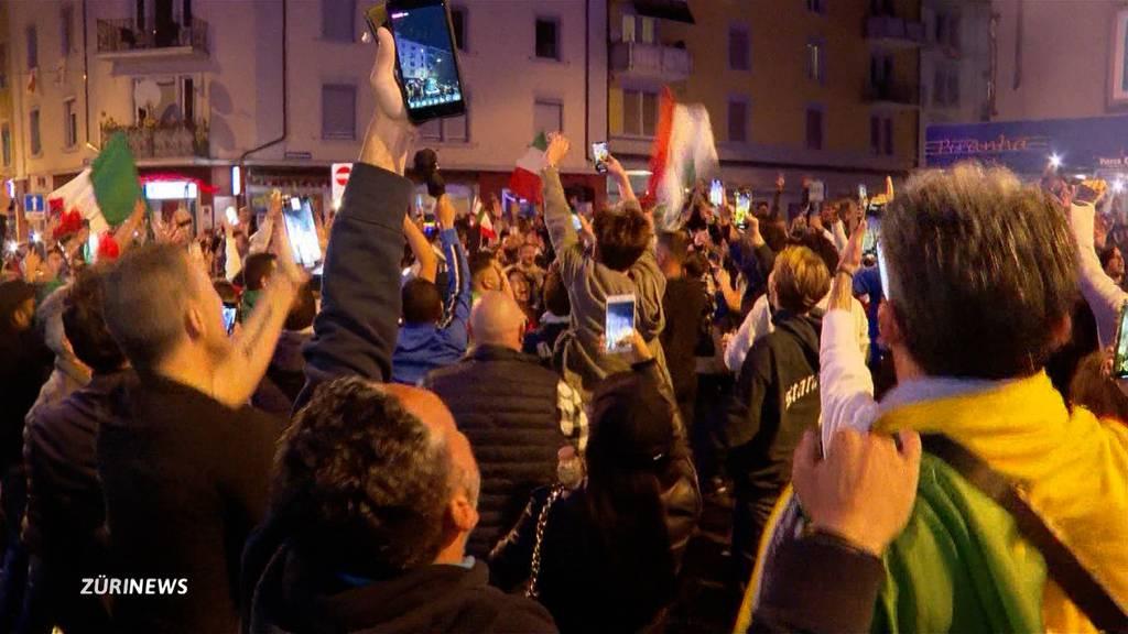 Italien steht im EM-Final: Erlösung nach 120 Minuten und 9 Penaltys