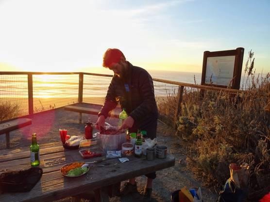 Luxusdinner an der kalifornischen Bucht Monterey Bay