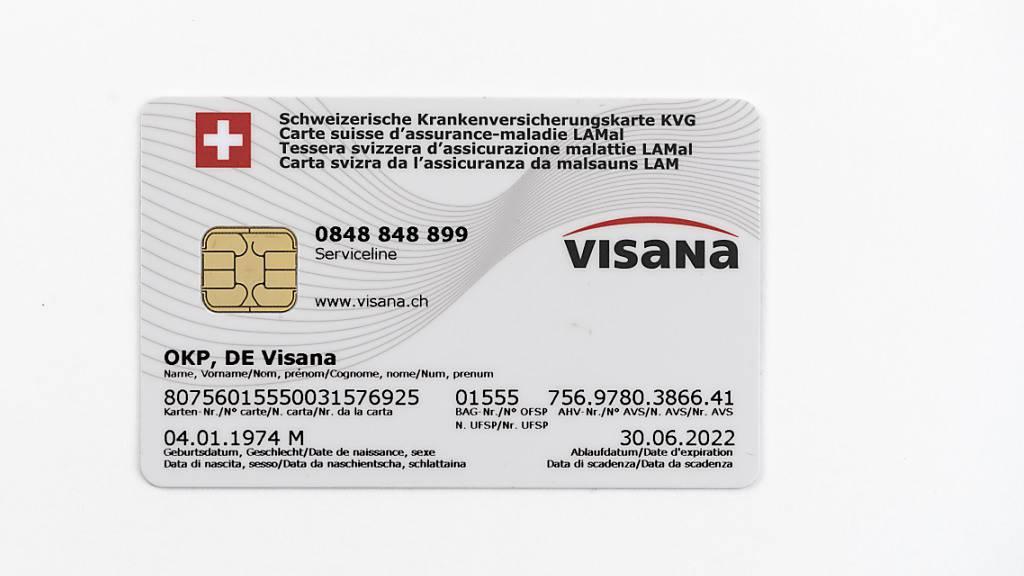 Der Kranken- und Unfallversicherer Visana hat im Geschäftsjahr 2020 einen Gewinneinbruch erlitten.  Den Versicherten will die Visana dennoch Geld aus den Reserven zurückzahlen. (Symbolbild)