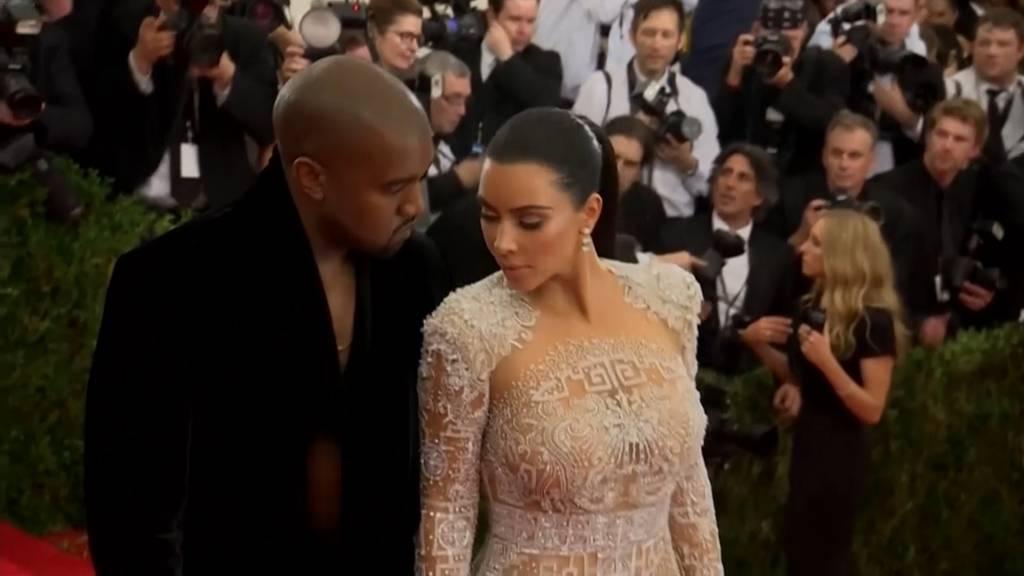 «Kimye» vor dem Aus: Kim Kardashian reicht Scheidung von Kanye West ein