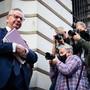 Der britische Staatsminister Michael Gove kritisiert die Haltung der EU. Foto: Aaron Chown/PA Wire/dpa