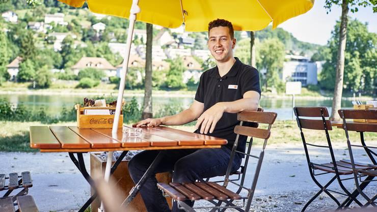 Michael Thommen hat als «Summertime»-Chef den Blick auf den Betrieb statt auf die Aare gerichtet.