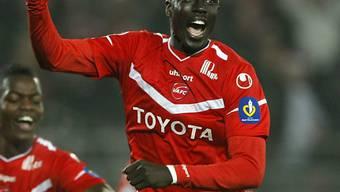 Valenciennes (Bild: Remi Gomis) bezwang Lyon
