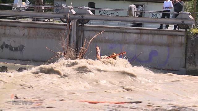 Hochwassergefahr im Kanton Bern