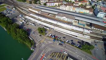 Das Projekt Bahnhofplatz geniesst zusammen mit dem Schulhaus Kleinholz grösste Priorität.