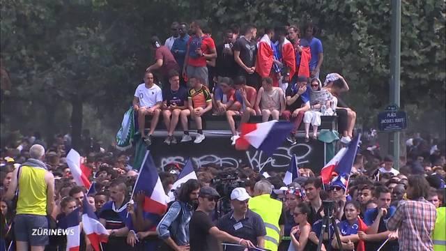 Die Franzosen ausser Rand und Band
